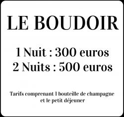 Box tarif boudoir