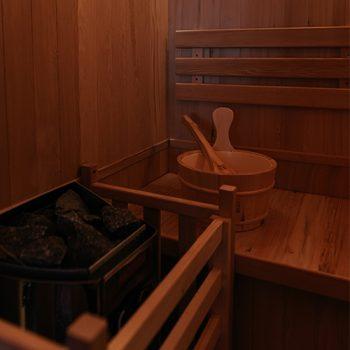 Leros Box suite sauna
